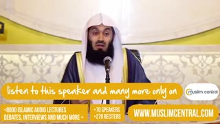 What Is Halal Food? -- Mufti Menk - Video