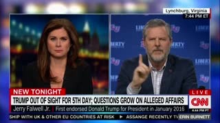 Erin Burnett interview with Jerry Falwell Jr - Video