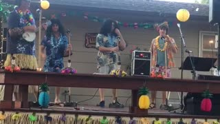Backyard Luau Fun