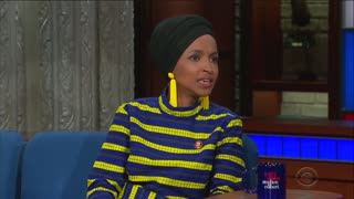 Ilhan Omar on Colbert