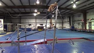 FOREARM MUSCLE UP ON BAR - Gymnastics Bodyweight Fitness Parkour - Video