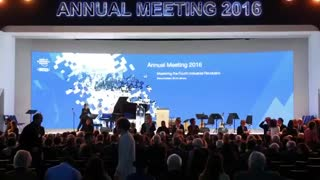 Famous faces at the World Economic Forum 2016 - Video