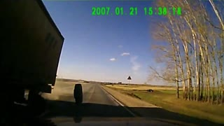 Intense Dashcam of Car Crash - Video