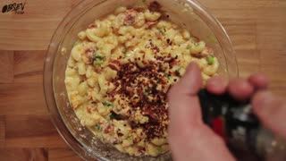 Lobster Bacon Mac and Cheese Roll - Video