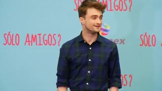 Daniel Radcliffe visits Mexico for debut of new romance film 'What If' - Video