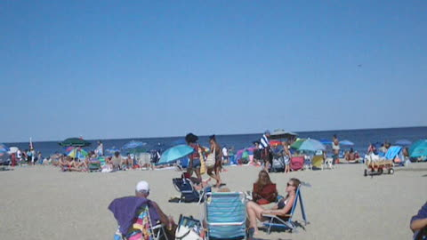 OCEAN GROVE BEACH - FOURTH OF JULY WEEKEND (NJ New Jersey Shore Travel)