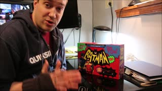 Batman: The Complete TV Series Limited Edition Blu-ray box set Unboxing - Video
