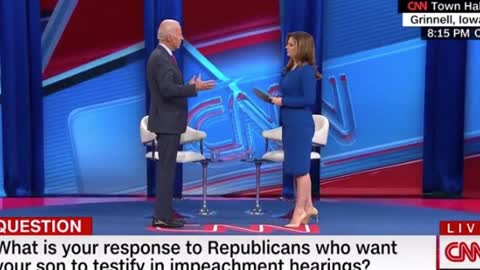 Biden Says There Is 'Zero Rationale' for Hunter to Testify [WATCH]