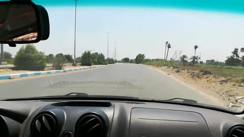 Tourist Records Road Journey In Faiyum