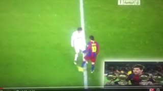L.Messi humilla a Ramos - Video