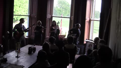 Dirty Cello Bluegrass Band Rocks The Walls Of 200 Year Old Mansion