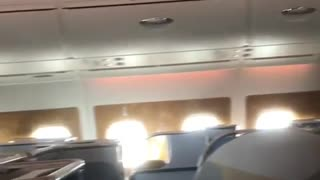 Emirates Airlines Pours Drinks Back into Bottles - Video