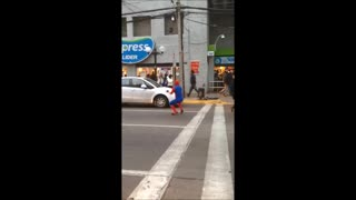 Spider Man Has Dance Moves - Video