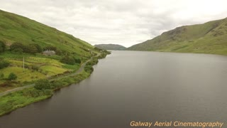 Drone footage of the unforgettable Connemara - Video