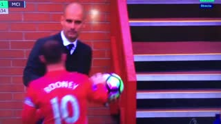 VIDEO: Wayne Rooney takes on Guardiola - Video