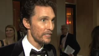 Matthew McConaughey on 'McConaissance' - Video