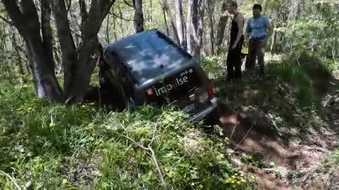Off-road vehicle can overcome any terrain