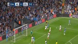 Fabian Delph Goal | Manchester City vs Steaua 1-0