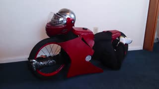 How to build your own Transformers Motorcycle Halloween Costume (Part 2 of 2)