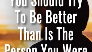 Be Better Than - Video
