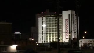 Clarion vegas hotel demolition fail/opps - Video
