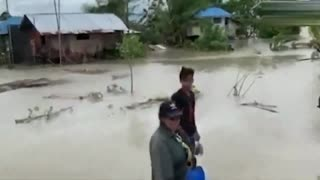 Super Typhoon Molave lashes the Philippines October 2020