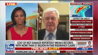 Fox News hosts chide Newt Gingrich for talking about George Soros