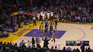 D'Angelo Russell Says He Has Ice In His Veins After Drilling Late 3 Pointer - Video