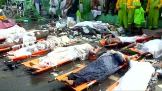 New video shows extent of haj disaster