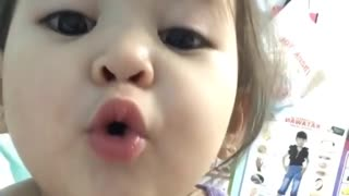 One-Year-Old Adorably Recites Her ABC's