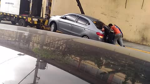 How Not to Tow a Vehicle