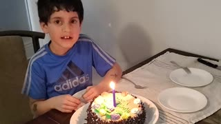 Levi turns 7 years old.