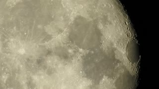 Moon close up, Nikon P900 - Video