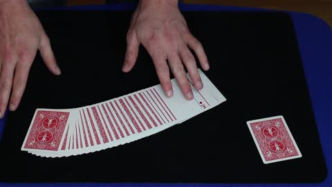 Magician transforms cards in this jaw-dropping trick
