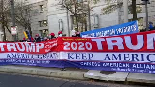 Chinese American Alliance for Trump Rally -1 12/12/2020