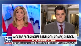"Congressman Said McCabe Internal Emails Said Hillary Would Get FBI 'HQ Special"" - Video"