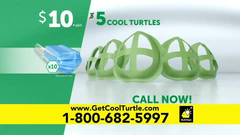 Cool Turtle Appliance Exposes Masks as Health Hazard