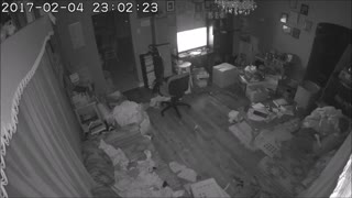 Real Ghost Caught Roaming in House During Night