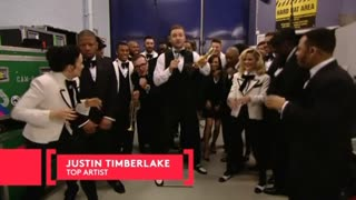 Justin Timberlake Thanks Everyone But Donald Sterling - Video
