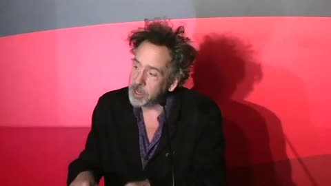 Director Tim Burton invites fans into his world