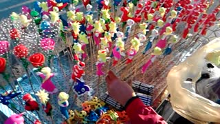Vietnamese traditional toy: To He