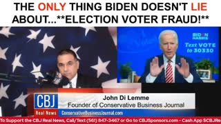 CBJ Real News Show (Part 109): What Biden Did Today...