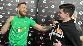 Conor McGregor Hires Body Guards, Names Them Rocky & Drago - Video