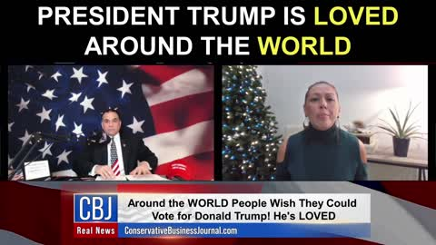 President Trump is LOVED Around The World!