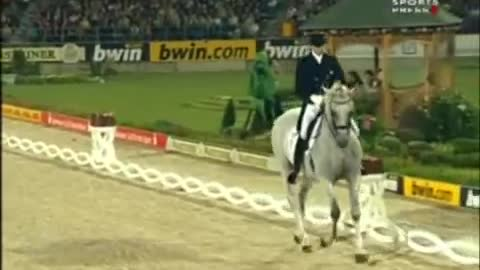 THE HORSE STARTS TROTTING, WHAT HAPPENS NEXT WILL BLOW YOUR MIND