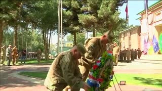 NATO troops in Afghanistan mark 9/11 anniversary - Video