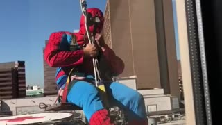 Superhero Window Washers - Video