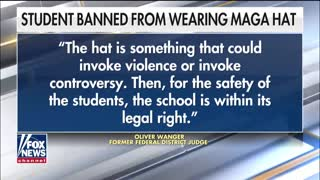 Teen speaks out about being banned from wearing MAGA hat at school