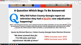 The Physical Ballot is the Proof-Jovan Pulitzer EXPOSES MASSIVE FRAUD in Georgia Election