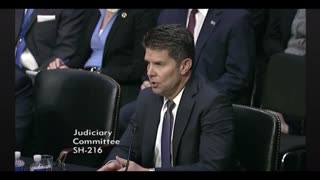 Acting FBI deputy director testified about 500,000 fugitives dropped from background check - Video
